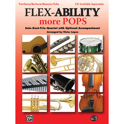 Flex Ability More Pops - Trombone/Baritone/Bassoon/Tuba