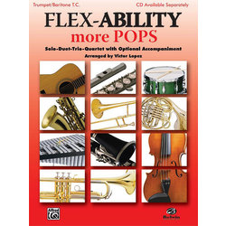 Flex Ability More Pops - Trumpet/Baritone TC