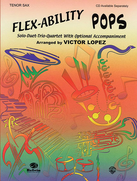 View larger image of Flex Ability Pops - Tenor Sax