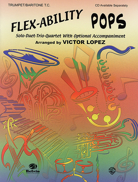 View larger image of Flex-Ability: Pops - Trumpet/Baritone T.C. Book