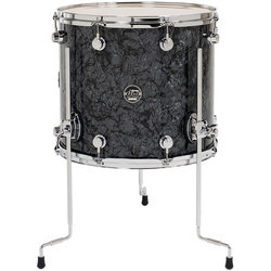 "DW Performance Series Floor Tom - 18""x16"", Black Diamond"