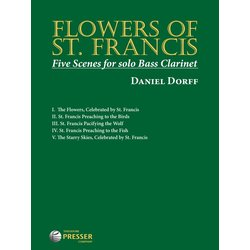 Flowers Of St.Francis - Bass Clarinet Solo