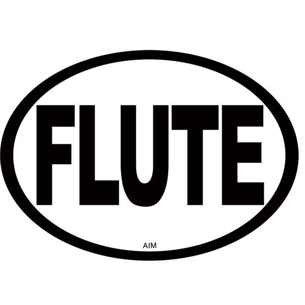 View larger image of Flute Oval Magnet