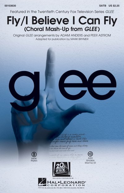 View larger image of Fly/I Believe I Can Fly (Choral Mash-up from Glee) - ShowTrax CD