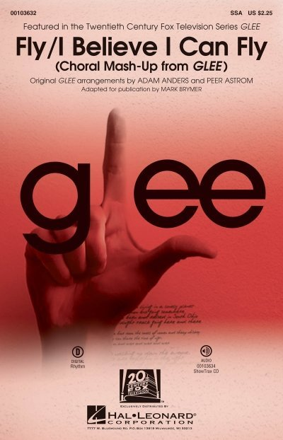 View larger image of Fly/I Believe I Can Fly (Choral Mash-up from Glee), SSA Parts