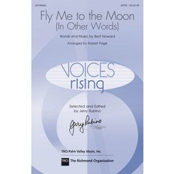 Fly Me to the Moon (In Other Words), SATB Parts