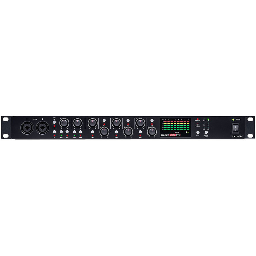 View larger image of Focusrite Scarlett OctoPre 8-Channel Microphone Preamp