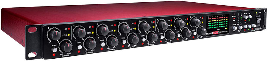 View larger image of Focusrite Scarlett OctoPre Dynamic Microphone Preamp