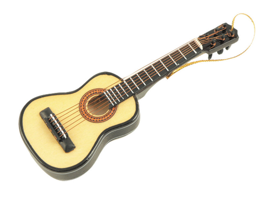 View larger image of Folk Guitar Ornament