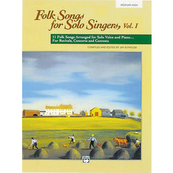 Folk Songs for Solo Singers Vol.1 - Medium High