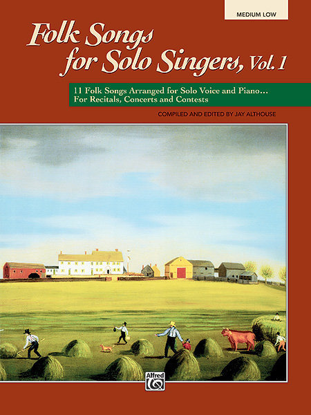 View larger image of Folk Songs for Solo Singers Vol.1 - Medium Low