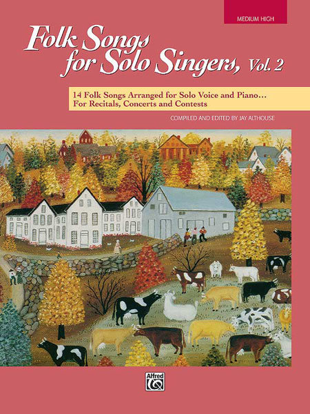 View larger image of Folk Songs for Solo Singers Vol.2 - Medium High