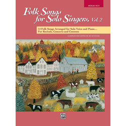 Folk Songs for Solo Singers Vol.2 - Medium High