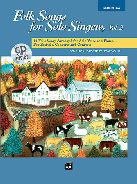 View larger image of Folk Songs for Solo Singers Vol.2 - Medium Low