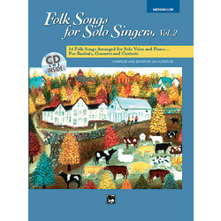 Folk Songs for Solo Singers Vol.2 - Medium Low
