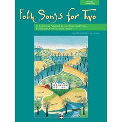 Folk Songs for Two w/CD (Vocal Duets)