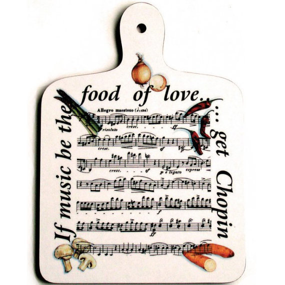 View larger image of Food of Love Chopping Board