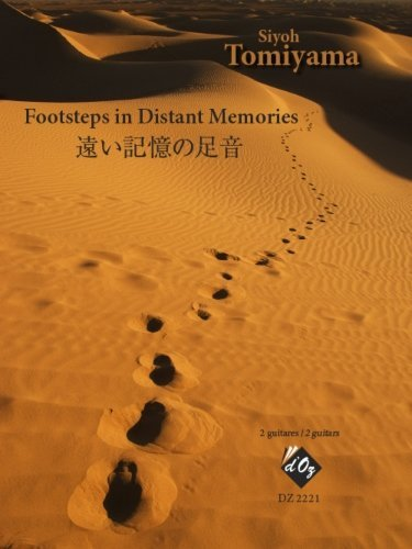 View larger image of Footsteps In Distant Memories - (Tomiyama) - Guitar Duet