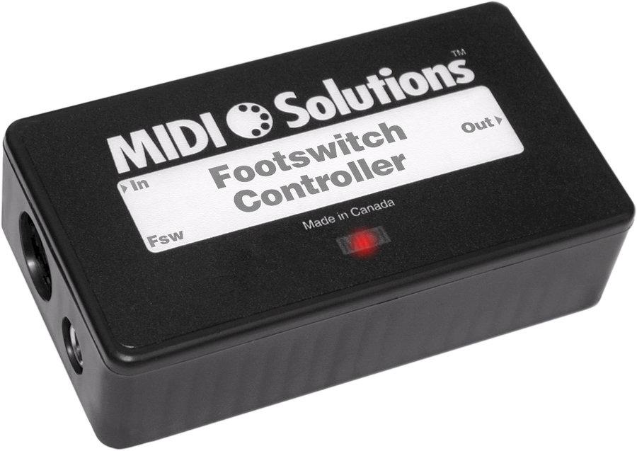 View larger image of Footswitch Controller by MIDI Solutions