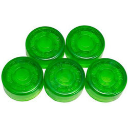 Mooer FT-GR Footswitch Toppers - Green, 5 Pack