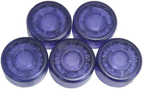 View larger image of Mooer FT-PP Footswitch Toppers - Purple, 5 Pack