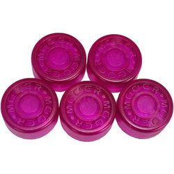 Mooer FT-RV Footswitch Toppers - Rose Violet, 5 Pack