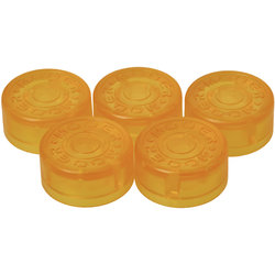 Mooer FT-YL Footswitch Toppers - Yellow, 5 Pack