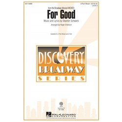 For Good (from Wicked) - VoiceTrax CD