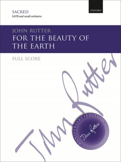 View larger image of For The Beauty Of The Earth, SATB Parts