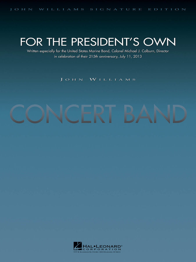View larger image of For the President's Own - Score & Parts, Grade 5