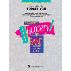 Forget You (Cee Lo Green) - Score & Parts, Grade 1.5