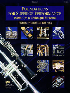 View larger image of Foundations for Superior Performance - Clarinet