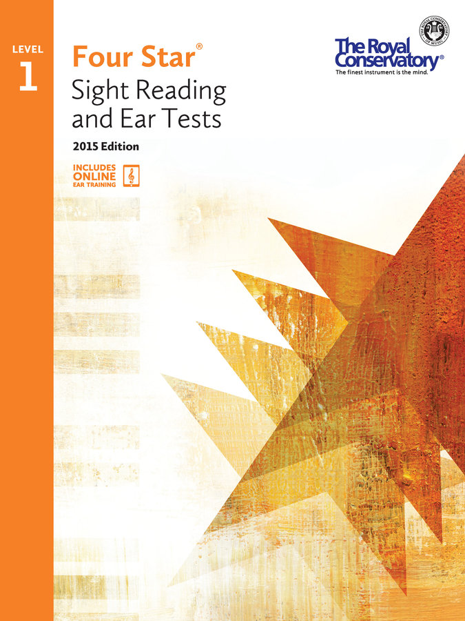 View larger image of Four Star Sight Reading and Ear Tests 2015 Edition - Level 1