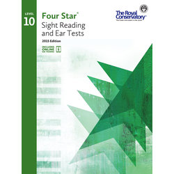 Four Star Sight Reading and Ear Tests 2015 Edition - Level 10