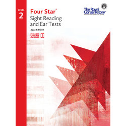 Four Star Sight Reading and Ear Tests 2015 Edition - Level 2