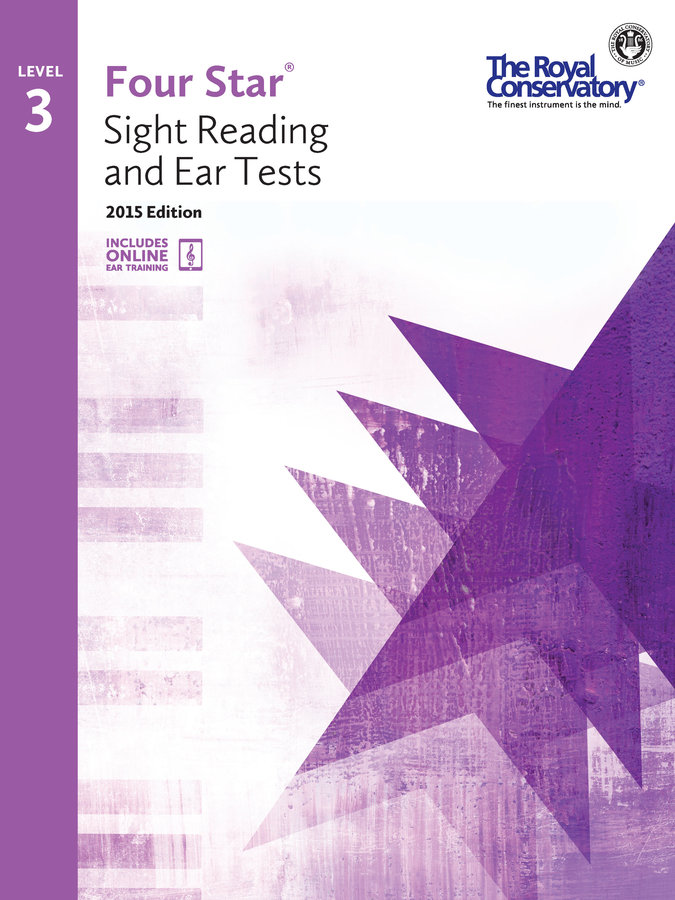 View larger image of Four Star Sight Reading and Ear Tests 2015 Edition - Level 3