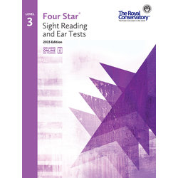 Four Star Sight Reading and Ear Tests 2015 Edition - Level 3