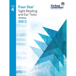 Four Star Sight Reading and Ear Tests 2015 Edition - Level 4