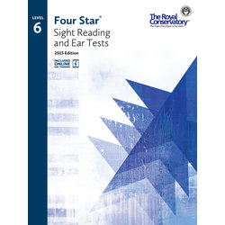 Four Star Sight Reading and Ear Tests 2015 Edition - Level 6