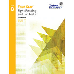 Four Star Sight Reading and Ear Tests 2015 Edition - Prep B