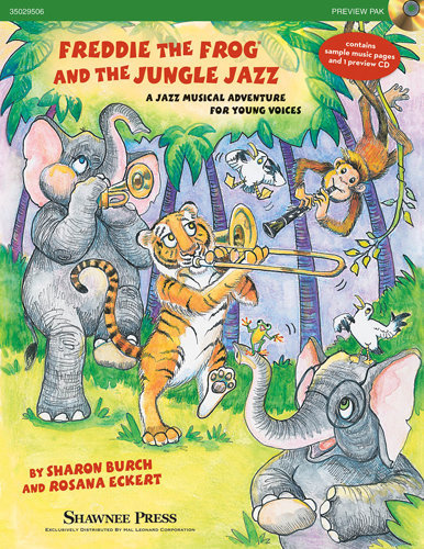 View larger image of Freddie the Frog & the Jungle Jazz - Piano Accomp CD