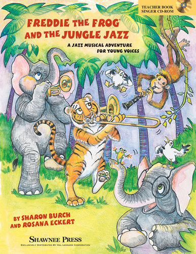 View larger image of Freddie the Frog & the Jungle Jazz - Teacher/Singer CD