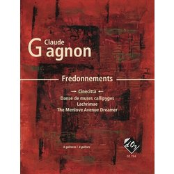 Fredonnements - Cinecitta (Ggnon) - Guitar Quartet