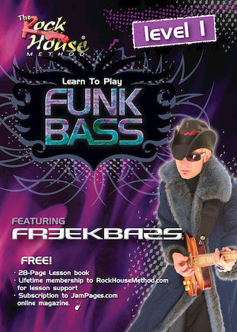 View larger image of Freekbass - Learn to Play Funk Bass Level 1