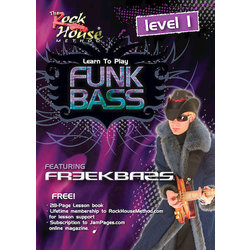 Freekbass - Learn to Play Funk Bass Level 1