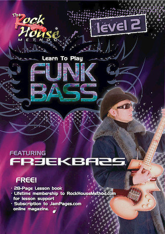 View larger image of Freekbass - Learn to Play Funk Bass Level 2