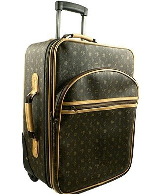 """View larger image of French Design Pull Suitcase - 20"""""""