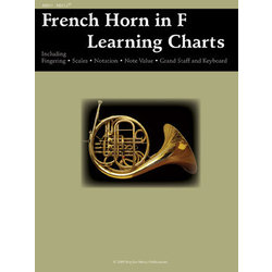 French Horn Learning Chart
