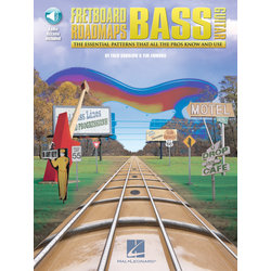 Fretboard Roadmaps – Bass w/Online Audio
