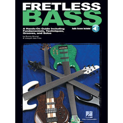 Fretless Bass - A Hands-On Guide Including Fundamentals, Techniques, Grooves and Solos w/Online Audio